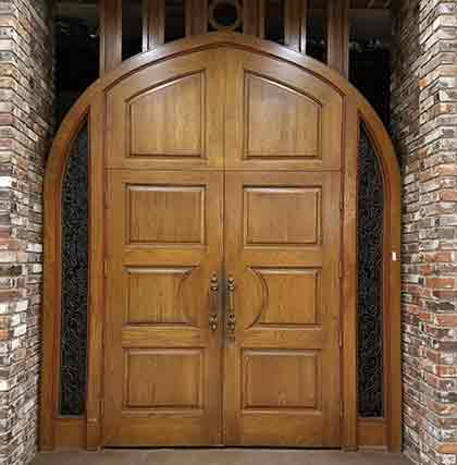 Large Ornate Door in Dallas, Texas.