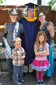R Brady Frost WGU Graduation