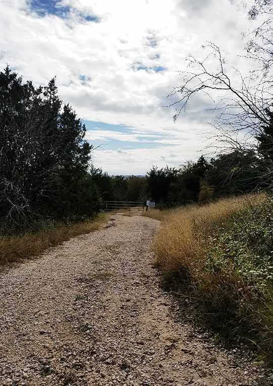 Mckinney State Park, TX - No Access Road