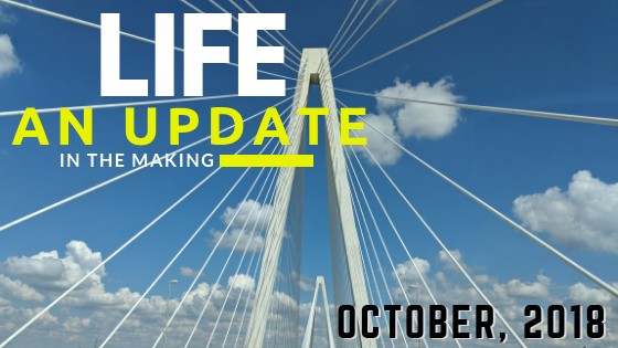 Life: an update in the making (October, 2018)